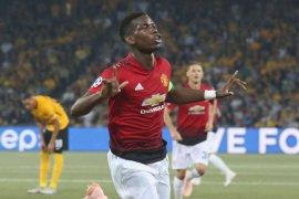 Dwigol Pogba antar United tundukkan Young Boys 3-0