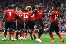 Manchester United ditahan imbang Wolverhampton di Old Trafford