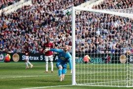 Manchester United tersungkur di kandang West Ham