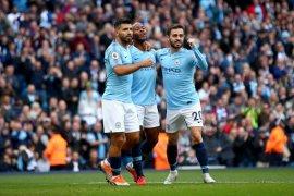 Manchester City menyeruak ke puncak usai tundukkan Brighton