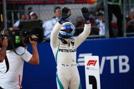Valtteri Bottas raih pole position GP Rusia