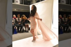 Model dengan sindrom down wujudkan mimpi di New York Fashion Week