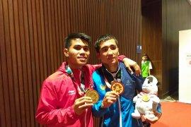 Peraih medali Asian Games diarak keliling kota Ternate