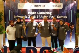 INAPGOC gratiskan difabel tonton Asian Paragames 2018