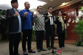 Parpol pengusung Prabowo-Sandiaga tetapkan Koalisi Indonesia Adil Makmur
