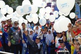 Kirab obor Asian Para Games finis di Kemenpora