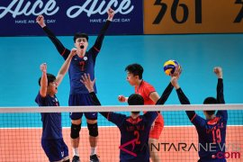 Chinese Taipei rebut perunggu voli putra