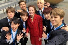 Di PBB, BTS ajak anak muda dengarkan suara hati