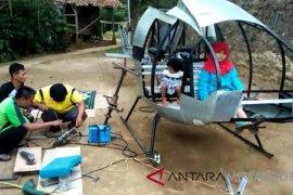Lagi, pesawat heli jatuh di Tasikmalaya Jawa Barat