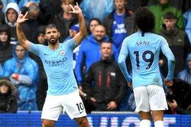 Aguero kembali hattrick saat City bantai Chelsea 6-0