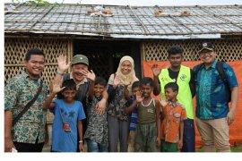 Anak Rohingya semangat belajar di Field Hospital Indonesia