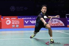 Tiga tunggal putra tembus perempat final Korea Terbuka