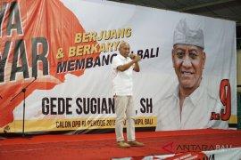 Calon DPR-RI Gede Sugianyar komitmen majukan pertanian