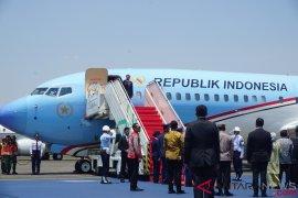 Jokowi lepas landas ke Korea Selatan