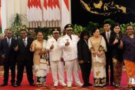Gubernur Papua akan genjot pembangunan infrastruktur
