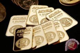 Pasar Wall Street terpuruk, harga emas naik