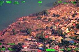 Citra satelit resolusi tinggi cari titik terparah gempa