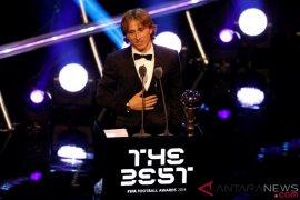 Modric terpilih sebagai Pemain Terbaik FIFA