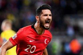 Dua gol Akbaba bawa Turki menang 3-2 di Swedia