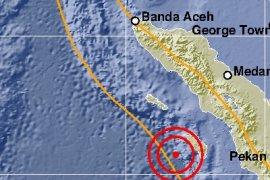 Gempa  3,5 SR landa Nias Barat