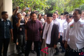 Ma'ruf Amin optimistis umat Islam dukung Jokowi-Ma'ruf