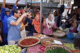 Prabowo/Sandi janji berikan solusi masalah ekonomi ke depan