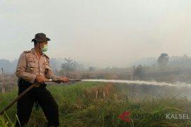 Polsek Banjarbaru Barat siaga api di puncak musim kemarau