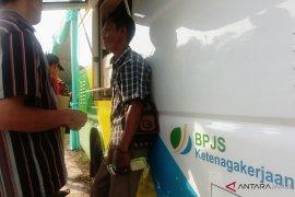 Warga Tanjabbar antusias mendaftar jadi peserta BPJS Ketenagakerjaan