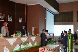 Bupati hadiri PAW anggota DPRD Batola