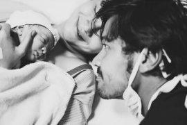 Chicco Jerikho takjub menyaksikan proses kelahiran sang anak