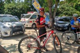 Zainal Fanani juarai Rhino MTB XCM 2018