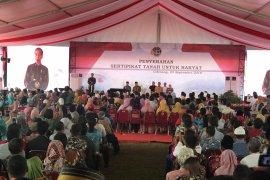 Presiden Jokowi sementara stop bagikan sepeda