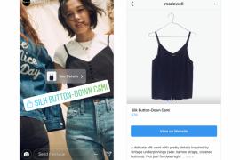 Instagram perkenalkan cara baru untuk berbelanja