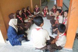 Mahasiswa KKN-T IPB peduli dengan pendidikan di Kecamatan Sale Kabupaten Rembang
