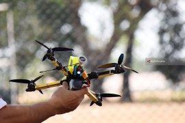 Atlet Lima Provinsi Ikuti Kejurnas Balap Drone (Video)