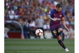 Hasil dan klasemen Liga Spanyol, Barcelona-Madrid senasib