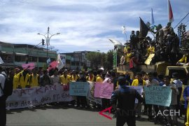 Mahasiswa Aceh Barat tuntut pengungkapan kasus narkoba