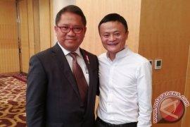 Menkominfo: Pertemuan Jokowi-Alibaba Grup usulkan Jack Ma Institute