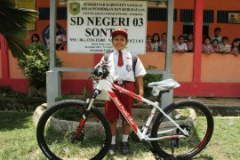 Dapat Sepeda Jokowi