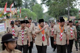 Apel Besar Hari Pramuka Ke-57 Lampung Di Waykanan