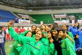 Putra-putri Thailand sandingkan gelar juara basket pelajar Asia