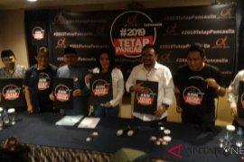 Relawan Jokowi luncurkan #2019TetapPancasila