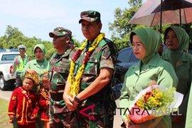 Pangdam II/Sriwijaya kunjungan kerja ke Bangka Belitung