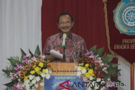 Bupati Bangka Barat Parhan Ali wafat