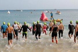 Atlet tujuh negara terlibat dalam Rhino Cross Triathlon-MTB