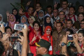 Presiden Jokowi sebutkan Menteri Perempuan sebagai ibu bangsa