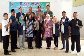 Tim Penilai Pilar-Pilar Sosial Teladan Nasional Tinjau Karang Taruna Lampung Timur