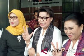 Para istri menteri Kabinet Kerja datangi KPK jalankan Gerakan SPAK