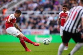Tendangan cantik Xhaka warnai kemenangan Arsenal atas Newcastle