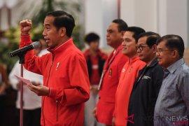 Medali hingga peningkatan rating dalam empat tahun Jokowi-JK